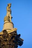La colonne du Nelson dans Trafalgar Square Image libre de droits