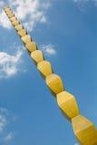La colonne sans fin (colonne d'infini), Targu Jiu image libre de droits