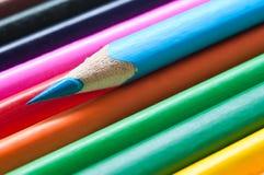 la coloritura disegna a matita la struttura di allineamento Fotografie Stock Libere da Diritti
