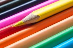 la coloritura disegna a matita la struttura di allineamento Fotografia Stock