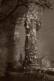 La columna de la decrepitud Imagen de archivo libre de regalías