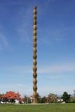 La columna del infinito de Constantin Brancusi, Targu Jiu, Rumania imagen de archivo