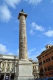 La columna Roma de Trajan Fotos de archivo