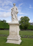 `La Comedie,` by Julien Toussaint Roux in the Tuileries Gardens Stock Images