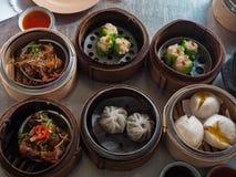 La comida china, Dimsum imagenes de archivo