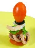La comida debe ser hermosa Imagen de archivo libre de regalías