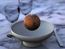 La comida del astrónomo Libre Illustration