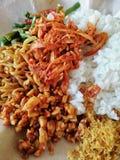 La comida del balinese imagen de archivo libre de regalías