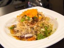 La comida deliciosa - cocina japonesa Imagen de archivo libre de regalías