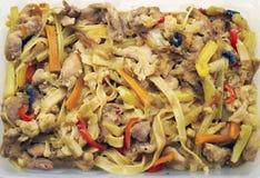 La comida oriental Fotografía de archivo