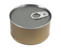 La comida puede aislado imagen de archivo libre de regalías