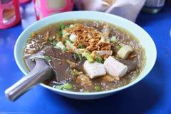 La comida tailandesa local Imágenes de archivo libres de regalías