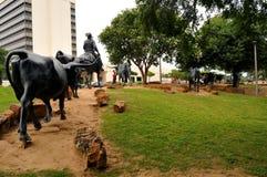 La commande de bétail de Waco Photo libre de droits