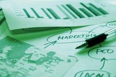 La commercializzazione analizza Immagine Stock Libera da Diritti