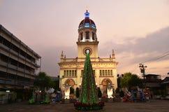 La communauté antique d'église de Santa Cruz du chrétien portugais en Thaïlande photographie stock libre de droits