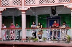 La communauté bengali chez Kolkata Photos libres de droits