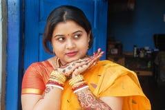 La Communauté bengali chez Kolkata Photo stock