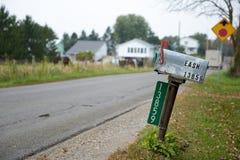 La communauté d'exploitation agricole amish Images libres de droits