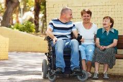 La communauté de handicapés Image libre de droits