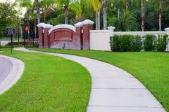 La communauté de la Toscane de paumes de Tampa Image libre de droits