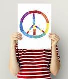 La communauté de liberté d'égal de LGBT ensemble Image stock