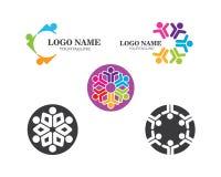 La Communauté, réseau et vecteur social de conception d'icône illustration de vecteur