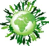 La communauté globale. Images libres de droits