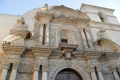La Compania Church - Arequipa, Peru Stock Photo