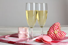 La composition de la Saint-Valentin Images stock