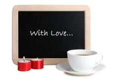 La composition de la Saint-Valentin Photos stock