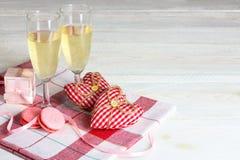 La composition de la Saint-Valentin Photographie stock libre de droits