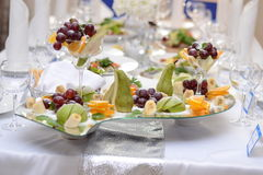 La composizione dei frutti Fotografia Stock