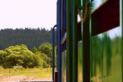 La composizione del treno fotografia stock libera da diritti