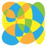 La composizione di colore dei cicli Fotografia Stock