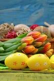 La composizione di Pasqua Fotografie Stock Libere da Diritti