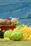 La composizione di Pasqua Immagine Stock Libera da Diritti