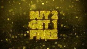 La compra 2 consigue 1 tarjeta de felicitaciones libre de los deseos, invitación, fuego artificial de la celebración