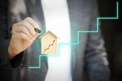 La comunicazione avanzata rende le transazioni facili con i sistemi della rete sociale illustrazione di stock