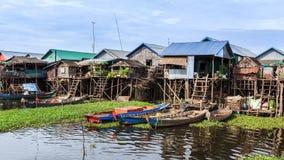 La comunità della riva del fiume Immagine Stock Libera da Diritti