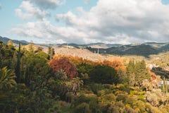 La Concepción Historical-Botanical Gardens just outside Malaga, Spain royalty free stock image