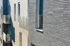 La conception de l'immeuble moderne image stock