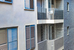 La conception de l'immeuble moderne image libre de droits