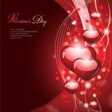 La conception de Valentine Image stock