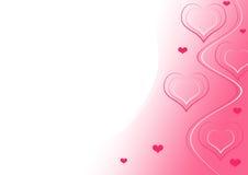 La conception de Valentine Images stock