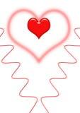 La conception de Valentine Photographie stock libre de droits