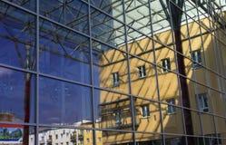 La conception du mur de verre Photo libre de droits