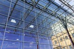 La conception du mur de verre Images libres de droits