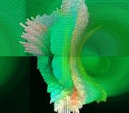 La conception graphique est abstraite Les industries graphiques Abstraction Texture illustration de vecteur