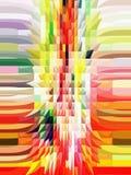 La conception graphique est abstraite Les industries graphiques Abstraction Texture Illustration Libre de Droits