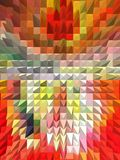 La conception graphique est abstraite Les industries graphiques Abstraction Texture Illustration Stock